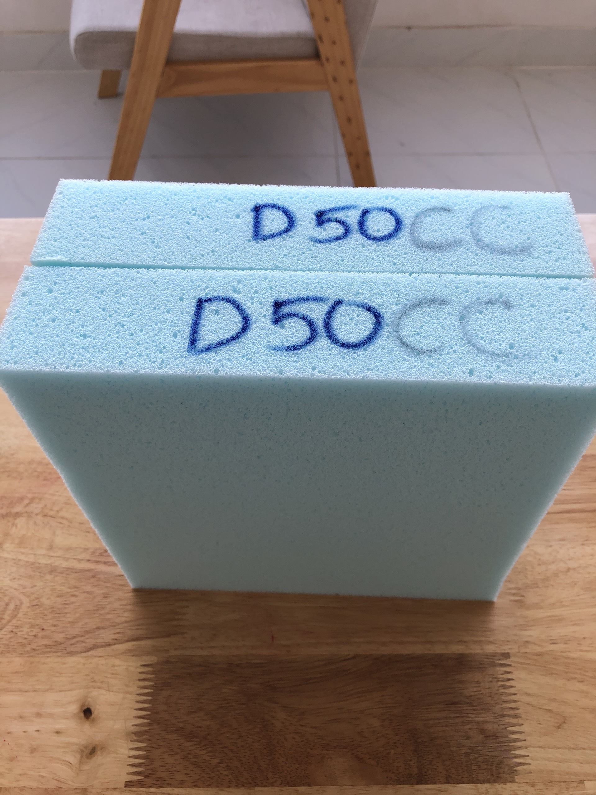 Mút xốp chống cháy D50CC